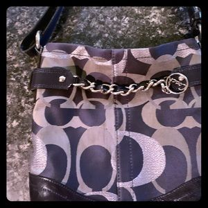 Gently used authentic Coach purse